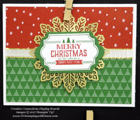 Stampin' Up! Be Merry Designer Series Paper samples shared by Dawn Olchefske #dostamping  #stampinup #handmade #cardmaking #stamping #diy #rubberstamping #DSP #designerseriespaper #christmas #bemerry