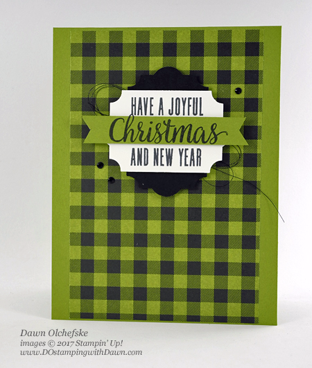 Paper Pumpkin Pining For Plaid projects shared by Dawn Olchefske #dostamping #stampinup #handmade #cardmaking #stamping #diy #rubberstamping #paperpumpkin #piningforplaid #christmas