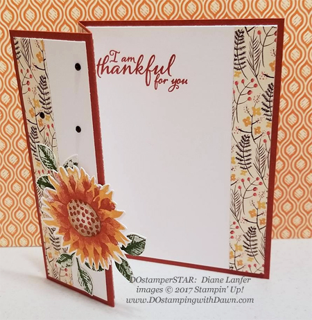 Stampin' Up! Painted Harvest card shared by Dawn Olchefske #dostamping  #stampinup #handmade #cardmaking #stamping #diy #rubberstamping #dostamperstars (Diane Lanfer)