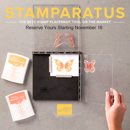 Stamparatus | NEW Stampin' Up! stamp positioning tool shared by Dawn Olchefske #dostamping  #stampinup #cardmaking #stamping  #rubberstamping #stamparatus
