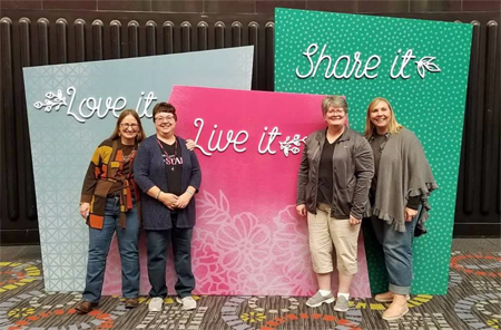 Stampin' Up! On Stage experience shared by Dawn Olchefske #dostamping  #stampinup #rubberstamping #onstage2017 #2018OccasionsCatalog #dostamperstars