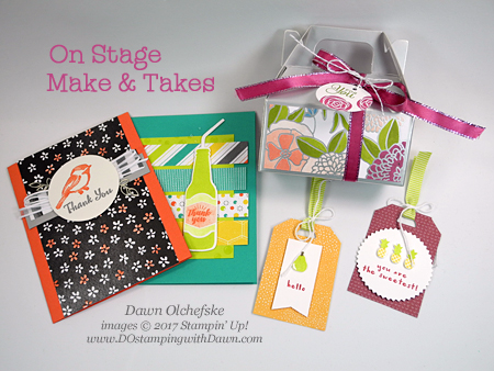 Stampin' Up! On Stage experience shared by Dawn Olchefske #dostamping #stampinup #rubberstamping #onstage2017 #2018OccasionsCatalog