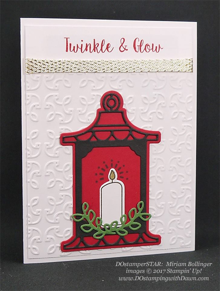 Stampin' Up! Seasonal Lantern Bundle shared by Dawn Olchefske #dostamping #stampinup #handmade #cardmaking #stamping #diy #rubberstamping #christmascards (Miriam Bollinger)