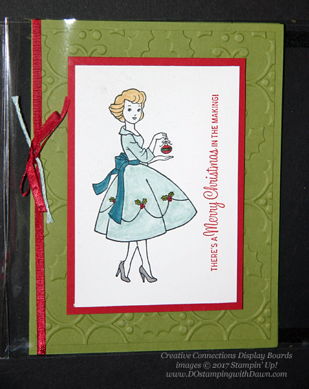 Stampin' Up! Christmas in the Making shared by Dawn Olchefske #dostamping #stampinup #handmade #cardmaking #stamping #diy #rubberstamping #christmascards
