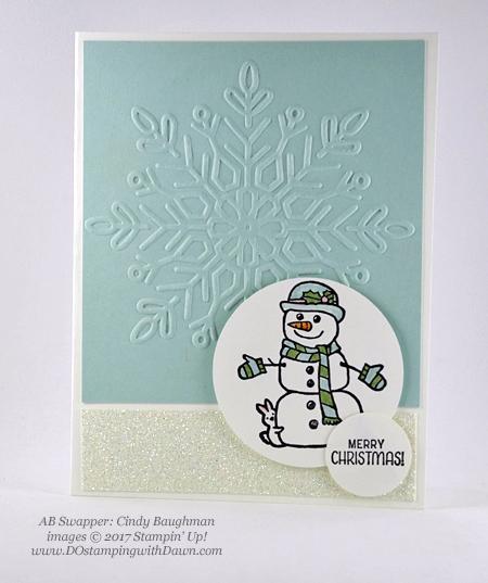 Stampin' Up! Seasonal Chums Bundle cardsshared by Dawn Olchefske #dostamping #stampinup #handmade #cardmaking #stamping #diy #rubberstamping #christmascards (Cindy Baughman)