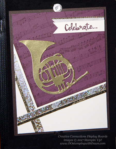 Stampin' Up! Musical Season Bundle card shared by Dawn Olchefske #dostamping  #stampinup #handmade #cardmaking #stamping #diy #rubberstamping #christmascards