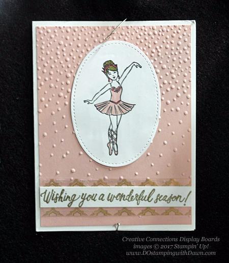 Stampin' Up! Sugarplum Dreams card shared by Dawn Olchefske #dostamping #stampinup #handmade #cardmaking #stamping #diy #rubberstamping #christmascards