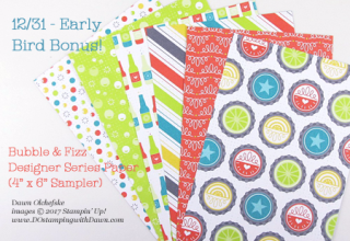 DOstamping 2018 Occasions Product Share Early Bird Bonus