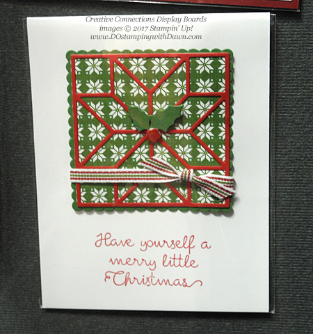 Stampin' Up! Christmas Quilt bundle cards shared by Dawn Olchefske #dostamping  #stampinup #handmade #cardmaking #stamping #diy #rubberstamping #christmascards #christmasquilt