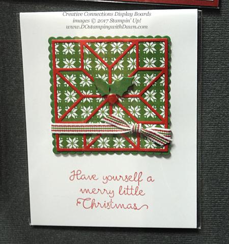 Stampin' Up! Christmas Quilt bundle cards shared by Dawn Olchefske #dostamping #stampinup #handmade #cardmaking #stamping #diy #rubberstamping #christmascards #christmasquilt