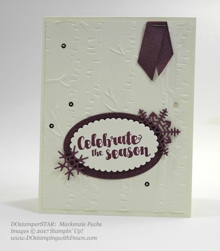 Stampin' Up! Tags & Trimmings stamp set shared by Dawn Olchefske #dostamping  #stampinup #handmade #cardmaking #stamping #diy #rubberstamping (Mackenzie Fuchs)