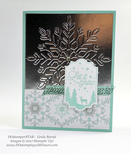 Stampin' Up! Merry Little Labels stamp set and Everyday Label Punch shared by Dawn Olchefske #dostamping #stampinup #handmade #cardmaking #stamping #diy #rubberstamping (Linda Bareis)