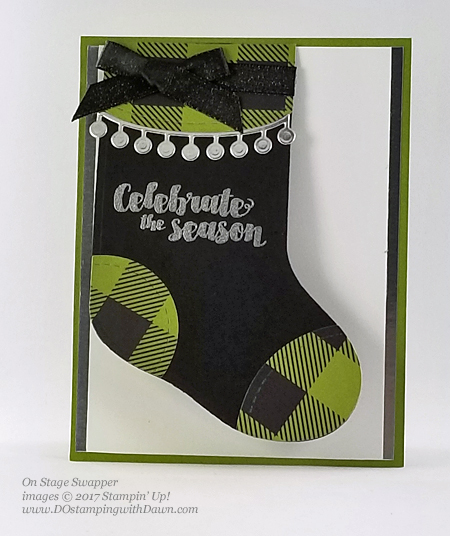 Stampin' Up! Tags & Trimmings stamp set and Trim Your Stockings Thinlit Dies shared by Dawn Olchefske #dostamping  #stampinup #handmade #cardmaking #stamping #diy #rubberstamping