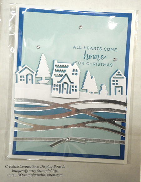 Stampin' Up! Hearts Come Home stamp set and Hometown Greetings Edgelits Dies shared by Dawn Olchefske #dostamping #stampinup #handmade #cardmaking #stamping #diy #rubberstamping