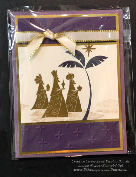 Stampin' Up! Wise Men from Afar stamp set shared by Dawn Olchefske #dostamping #stampinup #handmade #cardmaking #stamping #diy #rubberstamping