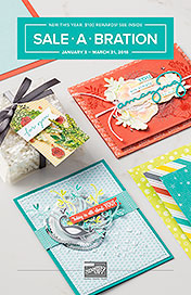 Stampin' Up! 2018 Sale-a-Bration shared by Dawn Olchefske #dostamping #stampinup #diy #cardmaking #homemade #rubberstamping