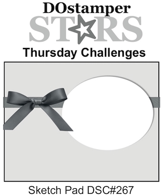 DOstamperSTARS Thursday Challenge #267-Sketch Pad #dostamping