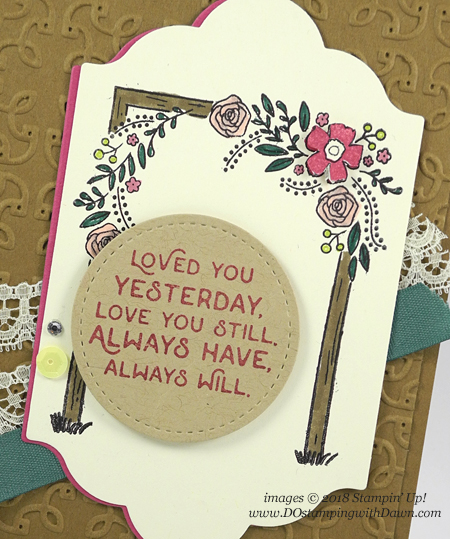Stampin' Up! Love You Still card shared by Dawn Olchefske #dostamping  #stampinup #handmade #cardmaking #stamping #diy #rubberstamping #papercrafting #loveyoustill #anniversarycard