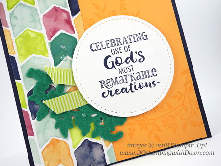 Stampin' Up! Hold on to Hope Bundle birthday card shared by Dawn Olchefske #dostamping  #stampinup #handmade #cardmaking #stamping #diy #rubberstamping #papercrafting #birthdaycard #holdontohopebundle #crossesofhopeframelits #naturallyeclecticDSP