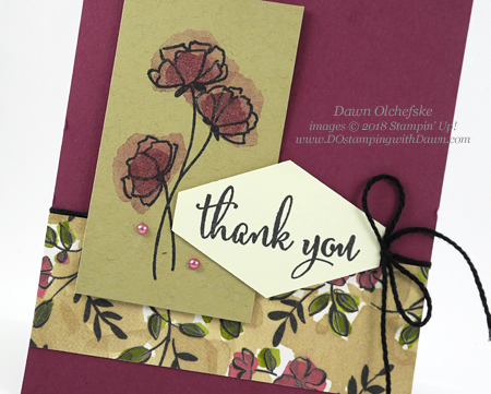 Stampin' Up! Share What You Love Bundle card shared by Dawn Olchefske #dostamping #stampinup #handmade #cardmaking #stamping #diy #rubberstamping #papercrafting #sharewhatyoulovebundle #lovewhatyoudo #thankyoucards