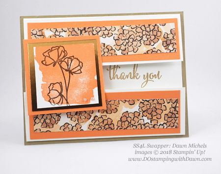Stampin' Up! Share What You Love swap cards shared by Dawn Olchefske #dostamping #stampinup #handmade #cardmaking #stamping #diy #rubberstamping #papercrafting #sharewhatyoulove (Dawn Michels)