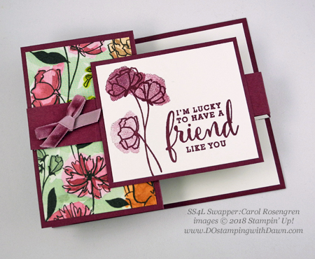 Stampin' Up! Share What You Love swap cards shared by Dawn Olchefske #dostamping  #stampinup #handmade #cardmaking #stamping #diy #rubberstamping #papercrafting #sharewhatyoulove (Carol Rosengren)