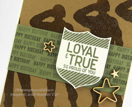 Stampin' Up! Loyal & True shared by Dawn Olchefske #dostamping  #stampinup #handmade #cardmaking #stamping #diy #rubberstamping #papercrafting #loyal&true