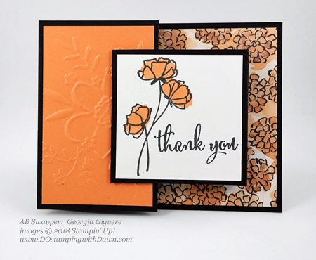 Only a few days left of Stampin' Up!'s Share What You Love promotion.  Check out these swaps shared by Dawn Olchefske #dostamping  #stampinup #cardmaking #stamping #rubberstamping #papercrafting #sharewhatyoulove (Georgia Giguere)