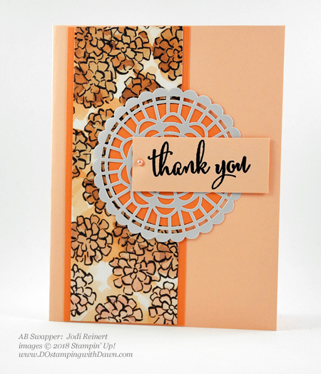 Only a few days left of Stampin' Up!'s Share What You Love promotion.  Check out these swaps shared by Dawn Olchefske #dostamping  #stampinup #cardmaking #stamping #rubberstamping #papercrafting #sharewhatyoulove (Jodi Reinert)