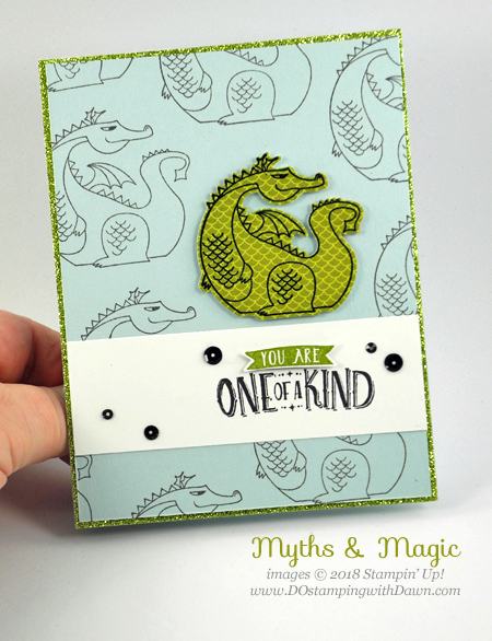 Stampin' Up! Magical Day cards shared by Dawn Olchefske #dostamping  #stampinup #handmade #cardmaking #stamping #diy #rubberstamping #papercrafting #magicaldaystampset #myths&magic  #birthdaycards