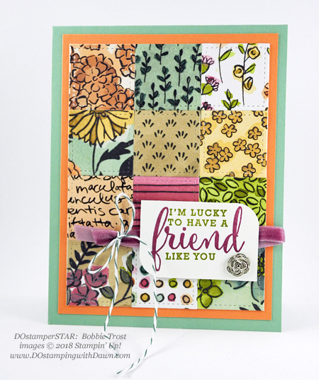 Stampin' Up! Share What You Love swap cards shared by Dawn Olchefske #dostamping #stampinup #handmade #cardmaking #stamping #diy #rubberstamping #papercrafting #sharewhatyoulove #dostamperstar (Bobbie Trost)
