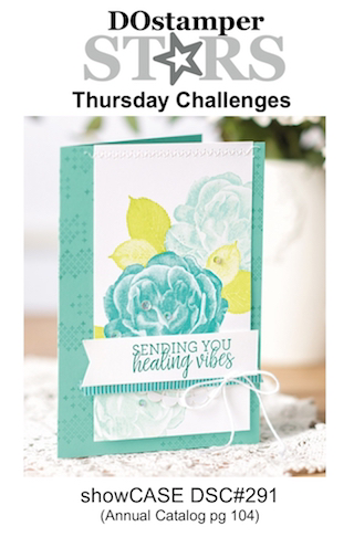 DOstamperSTARS Thursday Challenge #291 - showCASE #dostamping