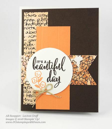 Only a few days left of Stampin' Up!'s Share What You Love promotion.  Check out these swaps shared by Dawn Olchefske #dostamping  #stampinup #cardmaking #stamping #rubberstamping #papercrafting #sharewhatyoulove (LeeAnn Greff)