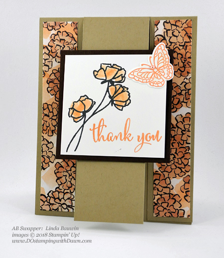 Only a few days left of Stampin' Up!'s Share What You Love promotion.  Check out these swaps shared by Dawn Olchefske #dostamping  #stampinup #cardmaking #stamping #rubberstamping #papercrafting #sharewhatyoulove (Linda Bauwin)