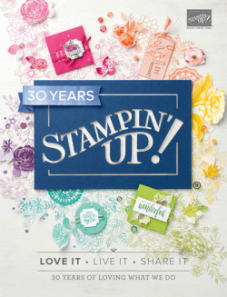 2018/2019 Stampin' Up! Annual Catalog #dostamping #stampinup