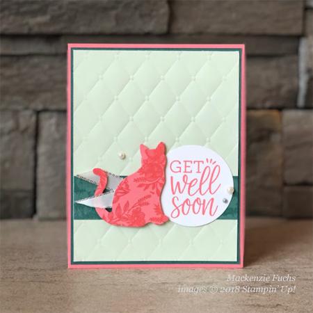 Stampin' Up! Beautiful Promenade & Healing Hugs card shared by Dawn Olchefske #dostamping #stampinup #handmade #cardmaking #stamping #papercrafting #beautifulpromenade (Mackenzie Fuchs)