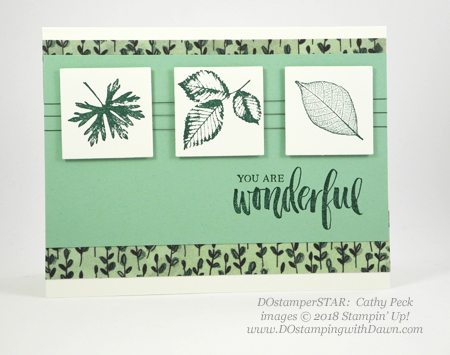 Stampin' Up! Rooted in Nature cards shared by Dawn Olchefske #dostamping  #stampinup #handmade #cardmaking #stamping #papercrafting #rootedinnature (Cathy Peck)