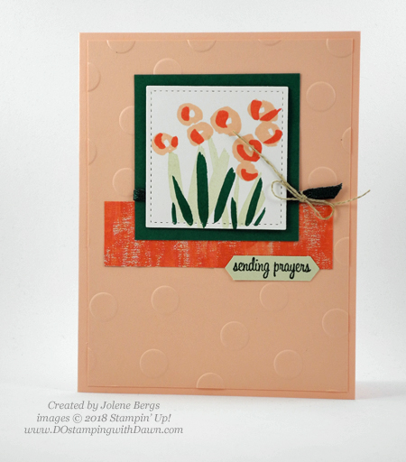 Stampin' Up! Garden Impressions cards shared by Dawn Olchefske #dostamping  #stampinup #handmade #cardmaking #stamping #papercrafting #gardenimpressions (Jolene Bergs)