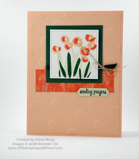Stampin' Up! Garden Impressions cards shared by Dawn Olchefske #dostamping #stampinup #handmade #cardmaking #stamping #papercrafting #gardenimpressions (Jolene Bergs)