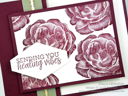 Card cutting trick by Dawn Olchefske, Stampin' Up! Healing Hugs #dostamping #stampinup #handmade #cardmaking #stamping #papercrafting#getwellcards #healinghugs