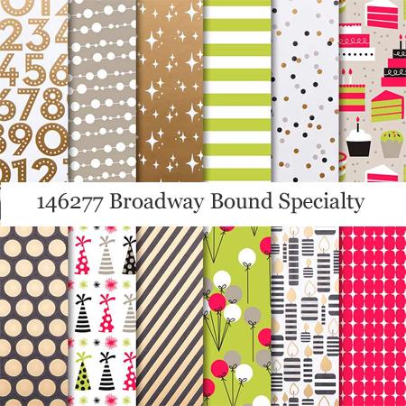146277 Broadway Bound Specialty Designer Series Paper #dostamping #stampinup