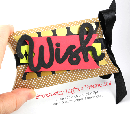Stampin' Up! Broadway Bound Suite Week Day 3 from Dawn Olchefske #dostamping  #stampinup #handmade #packaging #stamping #papercrafting #birthdaycards #broadwaybound