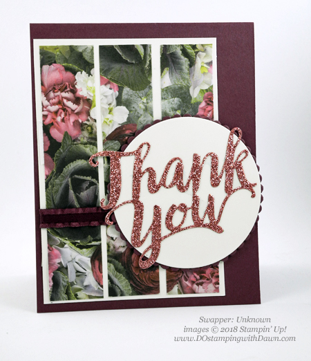 Stampin' Up! Petal Promenade Designer Series Paper swaps shared by Dawn Olchefske #dostamping #stampinup #handmade #cardmaking #stamping #papercrafting