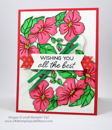 Stampin' Up! Blended Seasons Bundle card shared by Dawn Olchefske #dostamping  #stampinup #handmade #cardmaking #stamping #papercrafting #blendedseasons