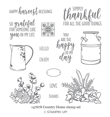 147678-County Home stamp set from Stampin' Up!