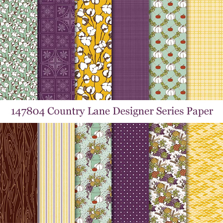 147804 Country Lane Designer Series Paper from Stampin' Up!
