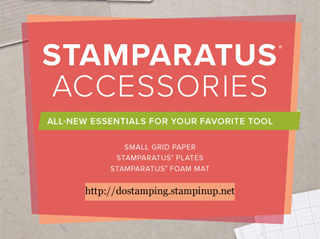 NEW Stamparatus Accessories!  shop with Dawn O at http://bit.ly/shopwithdawn #stampinup #stamparatus #dostamping