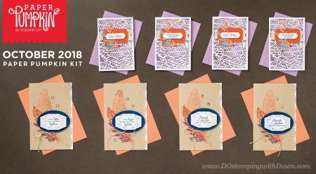 DO-Oct2018 Paper Pumpkin Cards