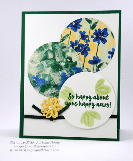 DOstamperSTARS swaps shared by Dawn Olchefske #dostamping  #stampinup #handmade #cardmaking #stamping #papercrafting #dostamperstars, Stampin' Up! Abstract Impressions (Adrienne Hovey)