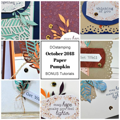 Paper Pumpkin October 2018 Kit Sneak Peak, subscribe with Dawn Olchefske at: https://mypaperpumpkin.com?demoid=61500 #paperpumpkin #cardkits